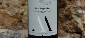 ANATOLIKOS VINEYARDS FINE ASSYRTIKO (2018)